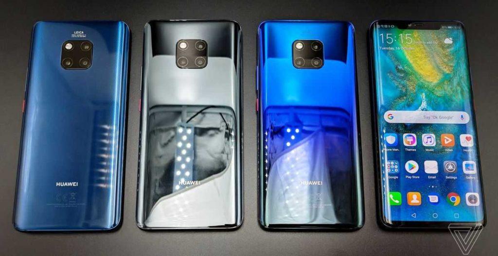 разные корпуса Huawei Mate 20