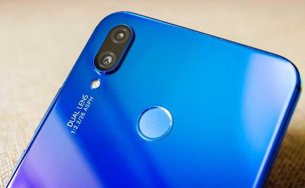 основной модуль камер Huawei P Smart+