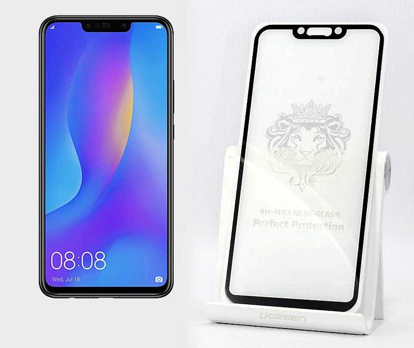 защитное стекло Huawei P Smart+