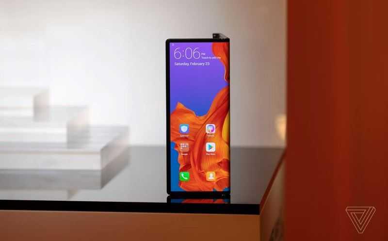 соотношение сторон Huawei Mate X