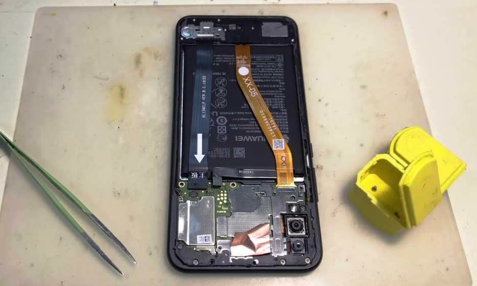 разборка Huawei P Smart+