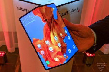 новости про Huawei Mate X