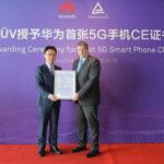 HUAWEI Mate X получил первый 5G CE сертификат