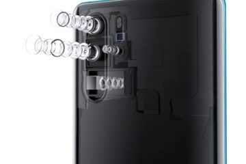 новинки Huawei P30 и P30 Pro