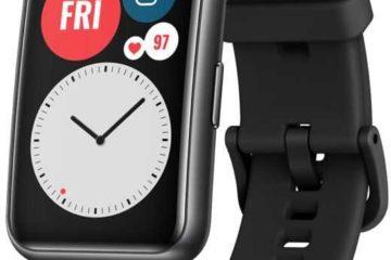 """Купить Смарт-часы HUAWEI Watch Fit TIA-B09, 1.64"""", черный в интернет-магазине СИТИЛИНК, цена на Смарт-часы HUAWEI Watch Fit TIA-B09, 1.64"""", черный (1414740) - Москва"""