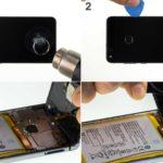 Huawei P10 Lite как разобрать самому.